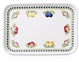 Villeroy & Boch French Garden Baking Rectangular 12.5 Serving Plate/Lid