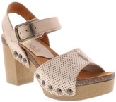 Sbicca Leather Ankle Strap Heels - Mathis