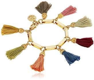 Ben-Amun Jewelry Venetian Breeze Silk Tassel Charm Bracelet