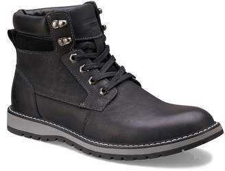 Members Only Men's Legacy Leather Lace-Up Boots