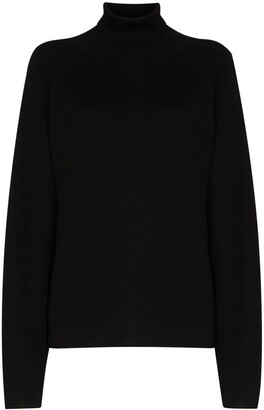 Carcel Milano roll-neck jumper