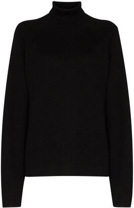 Carcel Milano roll-neck jumper