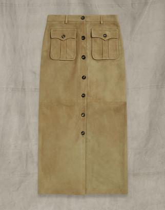 Belstaff Long City Safari Skirt