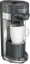 Hamilton Beach Flex Brew Single-Serve Coffee Maker - 49963 - Gray
