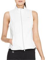 Lauren Ralph Lauren Petite Full-Zip Mockneck Vest