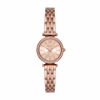 Kimberly Relic Women's Quartz Watch with Alloy Strap Pink 12 (Model: ZR34592)