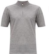 Iffley Road Sidmouth Pique T-shirt - Mens - Grey
