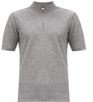 Iffley Road Sidmouth Pique T-shirt - Grey
