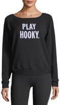 Beyond Yoga x kate spade new york play hooky pullover sweatshirt