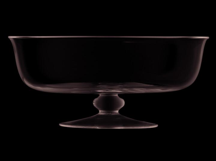 LSA International Serve 31cm Dessert Comport/Trifle Bowl Handmade Glass