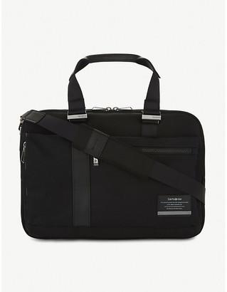 Samsonite Jet Black Openroad Laptop Briefcase