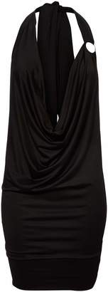 Mapalé By Espiral Mapale by Espiral Women's Super Sexy Plunging Cowl Dress