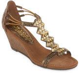 NEW YORK TRANSIT New York Transit Brighter Beauty Womens Wedge Sandals