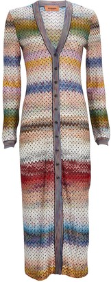 Missoni Chevron Duster Cardigan