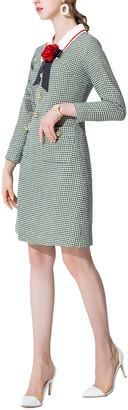 BURRYCO Wool-Blend Dress