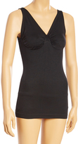 Black Firm Compression V-Neck Shaping Camisole