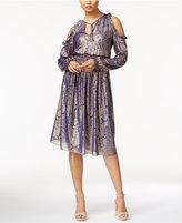 MICHAEL Michael Kors Maya Cold-Shoulder Dress