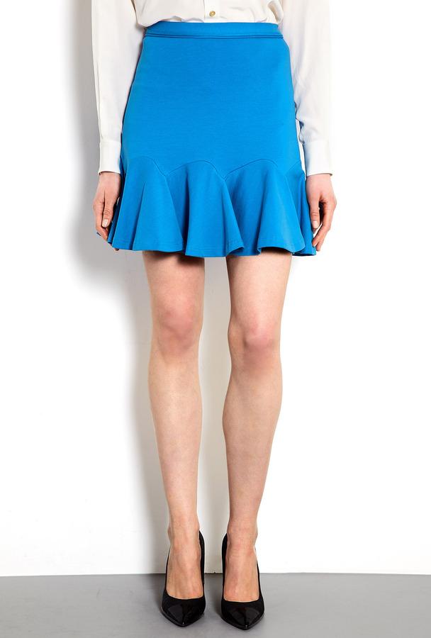 Carven Jersey Flip Skirt