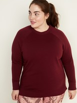 Old Navy French Terry Plus-Size Tunic Sweatshirt