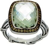 Peter Thomas Roth Sterling 7.80 ct Prasiolite C ocktail Ring