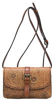 Patricia Nash Venetian Tooled Collection Torri Cross-Body Bag