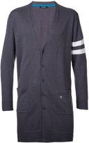 GUILD PRIME long cardigan - men - Cotton/Linen/Flax - 1