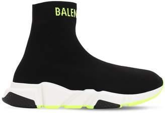 Balenciaga M SPEED HIGH SOCK SPORTY FLUO SNEAKERS