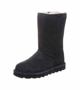 BearPaw Elle Short Womens Slouch Boots