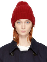 Blue Blue Japan Red Knit Beanie