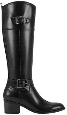 Bandolino Pries Leather Riding Boots