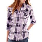 Arizona Long-Sleeve Plaid Shirt