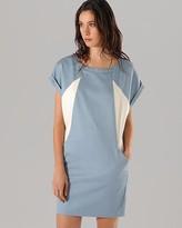 Maje Dress - Colombe Color Blocked