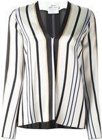 Forte Forte striped V-neck blouse