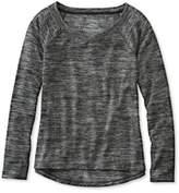 L.L. Bean Beans Marled Performance Sweatshirt, Pullover