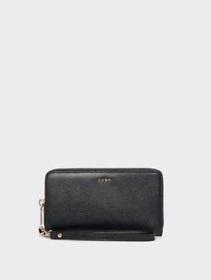DKNY Bryant Leather Wristlet