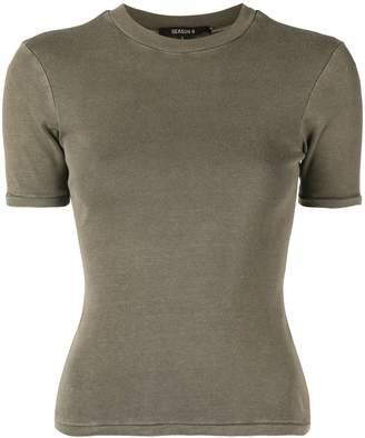 Yeezy shrunken short sleeve T-shirt