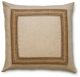 The Piper Collection Bohemia 22x22 Jute-Blend Pillow, Multi