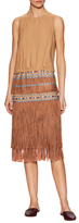 Twelfth Street By Cynthia Vincent Ocean Fringe Dress