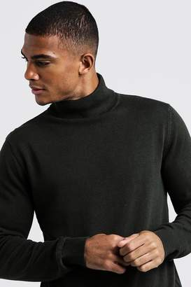 boohoo Roll Neck Jumper