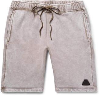Cav Empt Acid-Washed Loopback Cotton-Jersey Drawstring Shorts