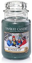 Yankee Candle Large Jar Candle, Bundle Up
