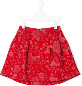 Kenzo Teen neoprene and lurex skirt