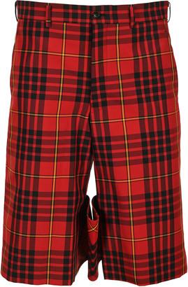 Comme des Garcons Tartan Bermuda Shorts