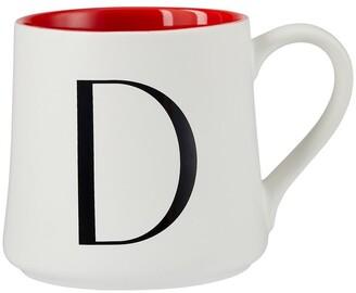 Indigo Monogram Mug D