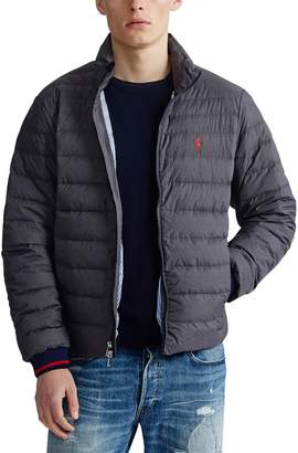 Polo Ralph Lauren Lightweight Zip-Up Padded Jacket with Pockets