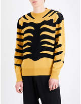 Stella Mccartney Tiger Stripe Knitted Jumper