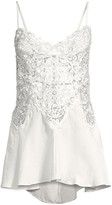 In Bloom Vintage Crochet Lace Chemise