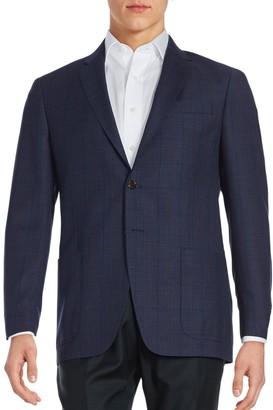 Todd Snyder Windowpane Wool Suit Jacket