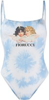 Fiorucci Angels tie dye one piece