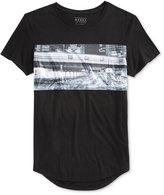 GUESS Men's Tokyo Longline Graphic-Print T-Shirt